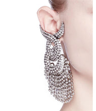 Vegas Strip | Ornate Statement Tassle Earring