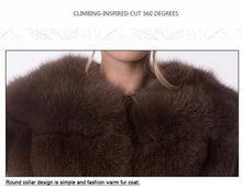 Cocoa | High Luxury Puff Fox Fur Vest