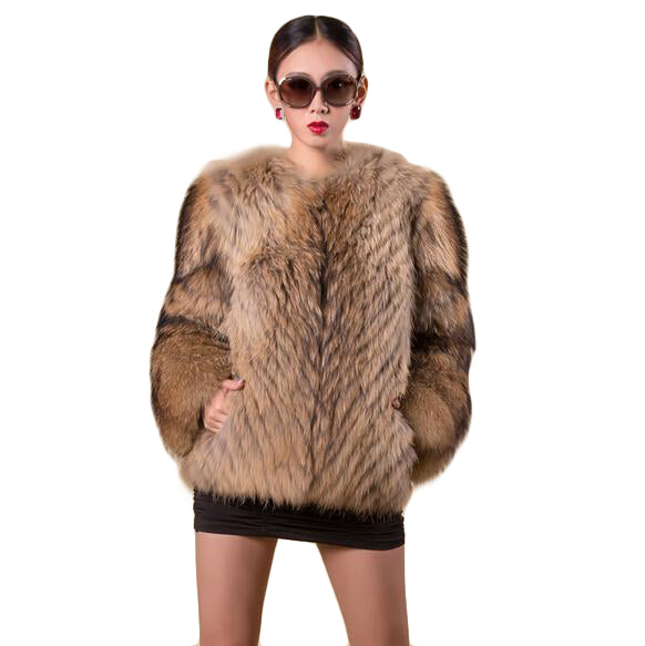 Petra | HIgh-end Luxury Raccoon Fur Coat