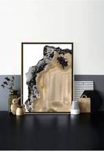 Meltdown | Abstract Agate Print