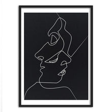 Intwined | Noir Sketch Line Drawing Print