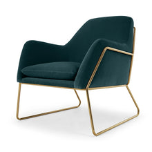 Lauren| Modern Velvet Chair