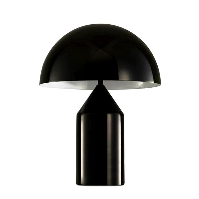 Metropolis | Modern Brushed Metal Mushroom Lamp