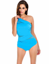 Gia | Chic Asymetric Shapewear One Piece Swimsuit