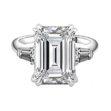 Icon | Emerald Cut Sterling Silver RIng