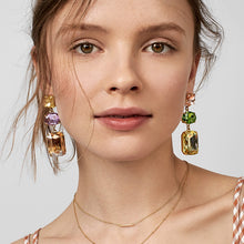 Catherine | Bold Gem dangle earrings