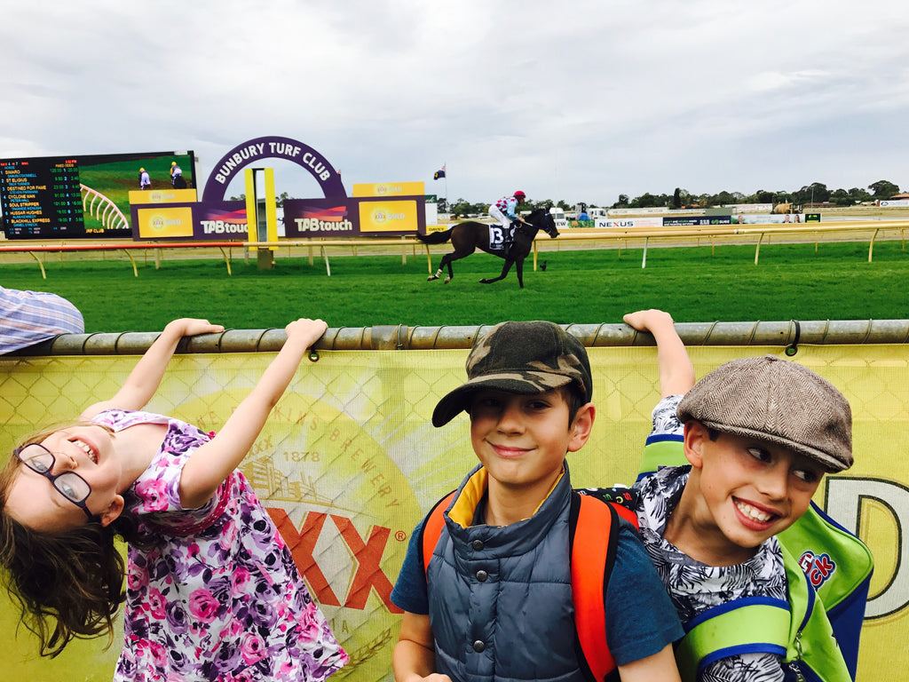 Top tips for taking your kids to the races