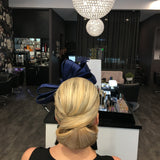 Hair styles for fascinators and hats