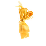 Melbourne Cup Yellow Fascinator Satin Bow