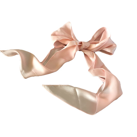 Gold Silk Head Scarf for Pony tail Hair Accessory Australia
