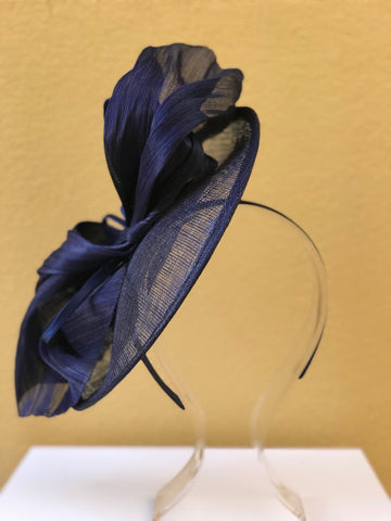 Navy Blue Wedding Fascinator Perth Australia