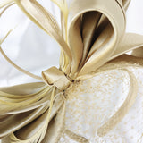 Neutral Nude Colour Bow Veiling Melbourne Cup Australia