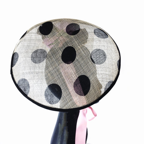 Black Nude and Pink Ladies Fascinator Darwin