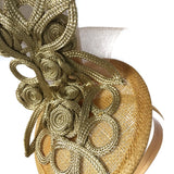 Melbourne Cup Races Gold Fascinator Australia