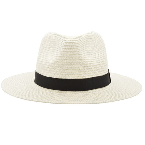 White Fedora Hat Australia Perth Straw Hat