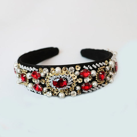 Embellished Beaded Headband for Special Occasion Cheap Headpiece Racewear Perth Australia