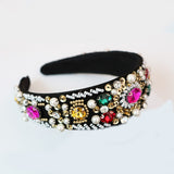 Crystal and Bead Headband for Special Occasion Cheap Headpiece Racewear Perth Australia