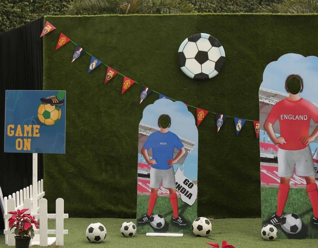 Football Theme for kids birthday parties
