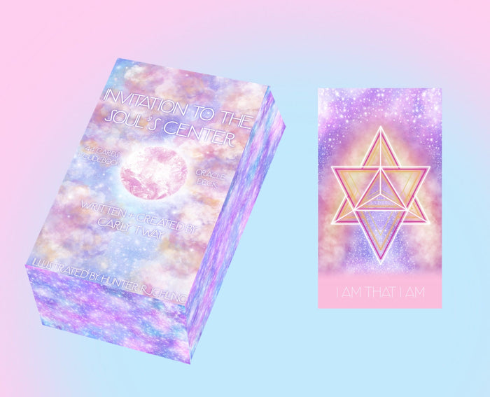 BUNDLE:  INVITATION TO THE SOUL'S CENTER ORACLE DECK & SOUNDS OF THE SOUL PORTAL