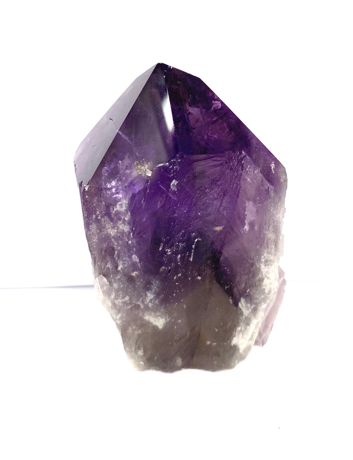Amethyst Rooted Point