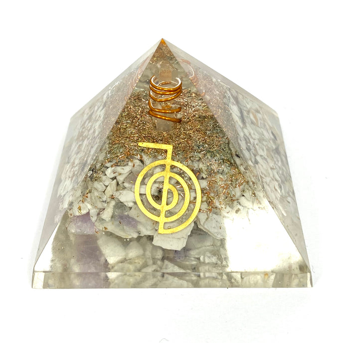 Reiki Infused Orgonite Pyramid