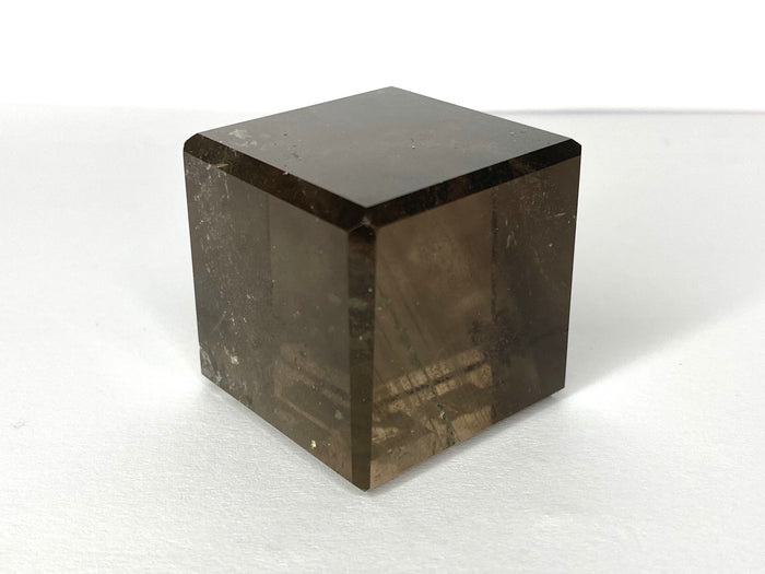 Small Smokey Quartz Cube