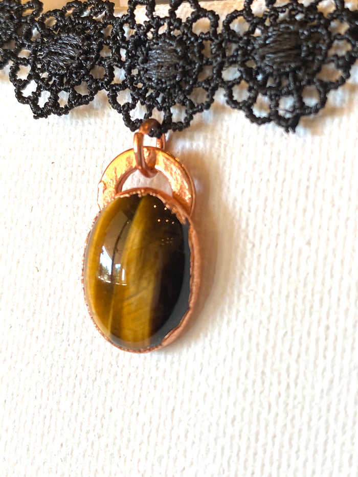 Tigers Eye Choker