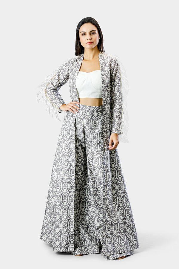 Bird Print Co-ord Set