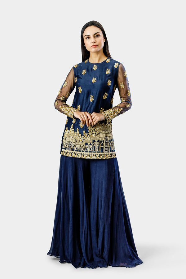 Embroidered Tunic Sharara