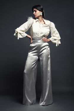 High Waist Pant with Belt