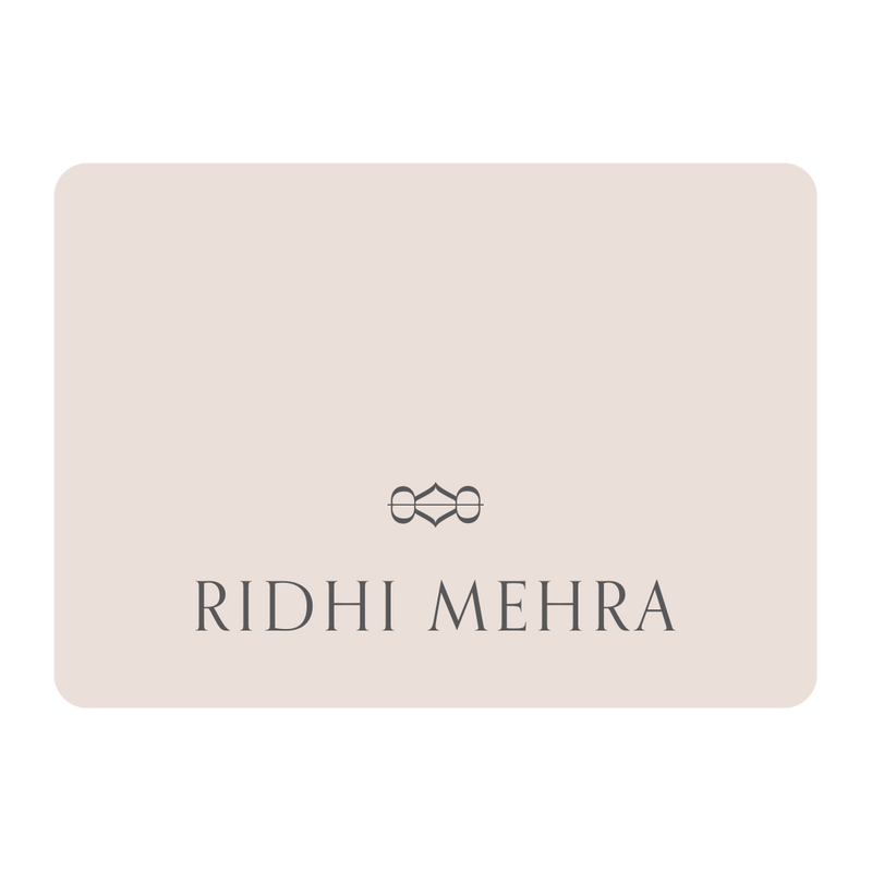 Ridhi Mehra Shopper's Card