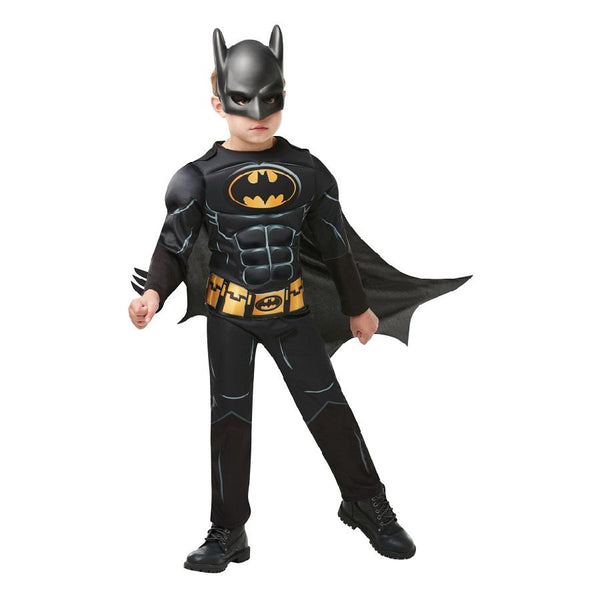 Warner Brothers DC Comics The Dark Knight Black Batman Core Costume