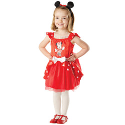 Disney Baby Toddler Minnie Mouse Red Ballerina Dress