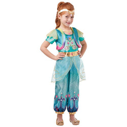 Nickelodeon Official Shimmer and Shine Deluxe Shine Costume