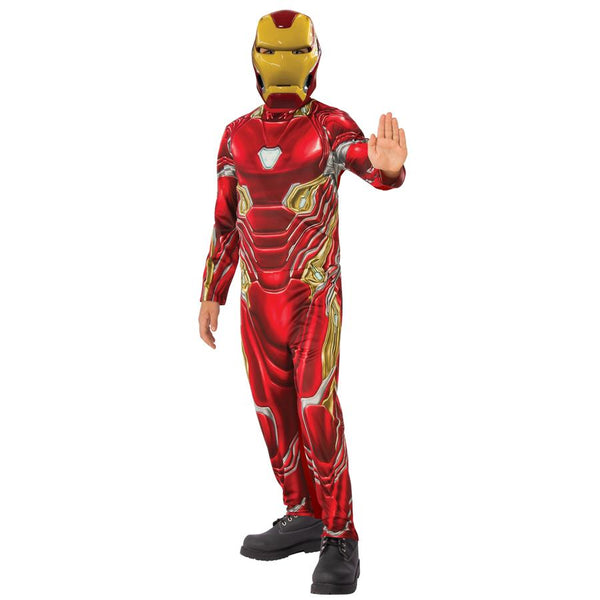 Marvel Comics Classic Iron Man Comic Book Costume