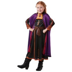 Disney Frozen 2 Official Classic Princess Anna Travel Dress,Costume