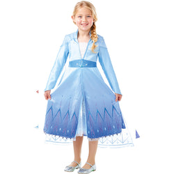Disney Frozen 2 Official Premium Elsa Dress, Costume