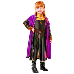 Disney Frozen 2 Official Premium Princess Anna Costume