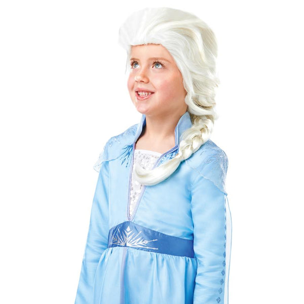Disney Frozen 2 Classic Elsa Wig Costume Accessory
