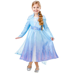 Disney Frozen 2 Movie Elsa Travel Dress,Costumes