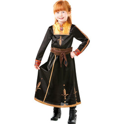 Disney Frozen 2 Official Princess Anna Deluxe Travel Dress,Costume