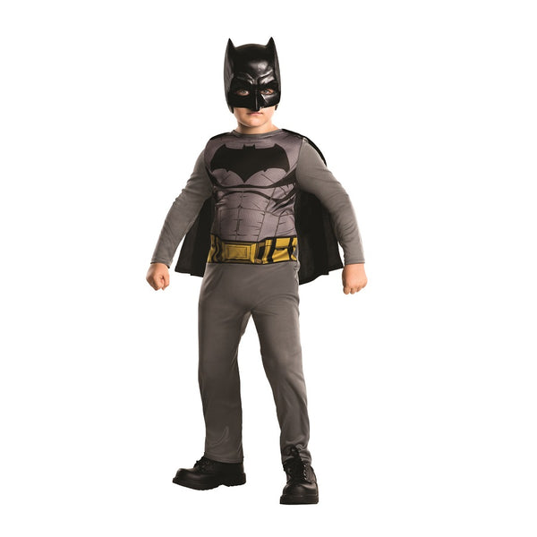 Warner Brothers DC Comics Batman Action Suit (Batman Vs Superman) by Rubies Costume