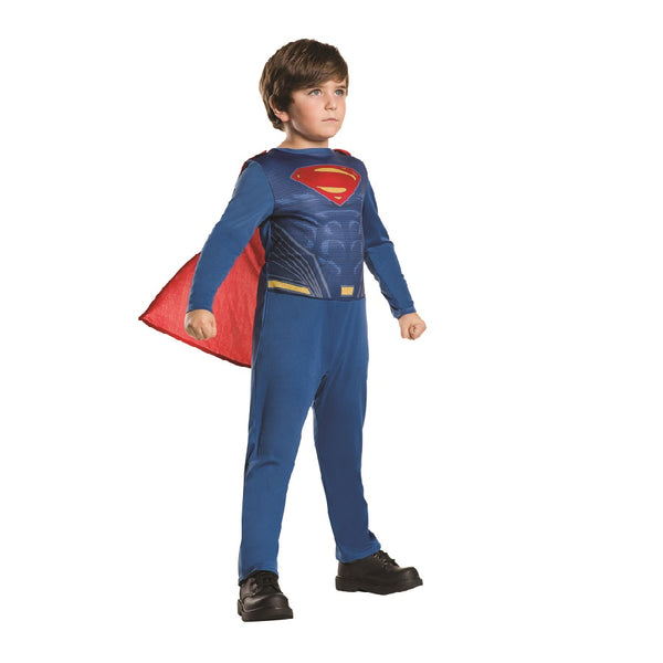 Batman Vs Superman Warner Brothers Superman Action Suit by Rubies Costume