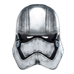Star Wars Captain Phasma Mask in White by Rubies Costume