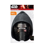 Star Wars VII Kylo Ren Black Mask Packaging by Rubies Costume