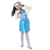 My Little Pony Rainbow Dash Party Dress Up by Rubies Costume