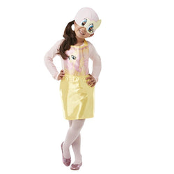 My Little Pony Fluttershy Party Dress Up in Yellow with Mask by Rubies Costume