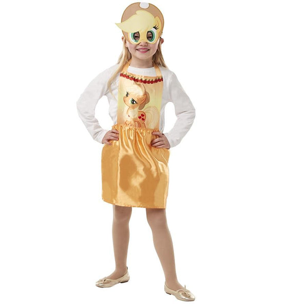 My Little Pony Apple Jack Party Dress Up in Gold by Rubies Costume