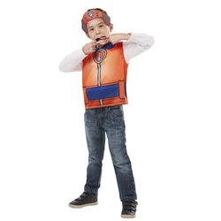Paw Patrol Zuma Party Dress-Up Set Costume in orange by Rubies Costume