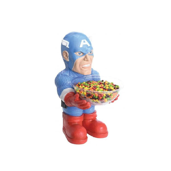 Captain America Candy Bowl Holder by Rubies Costume